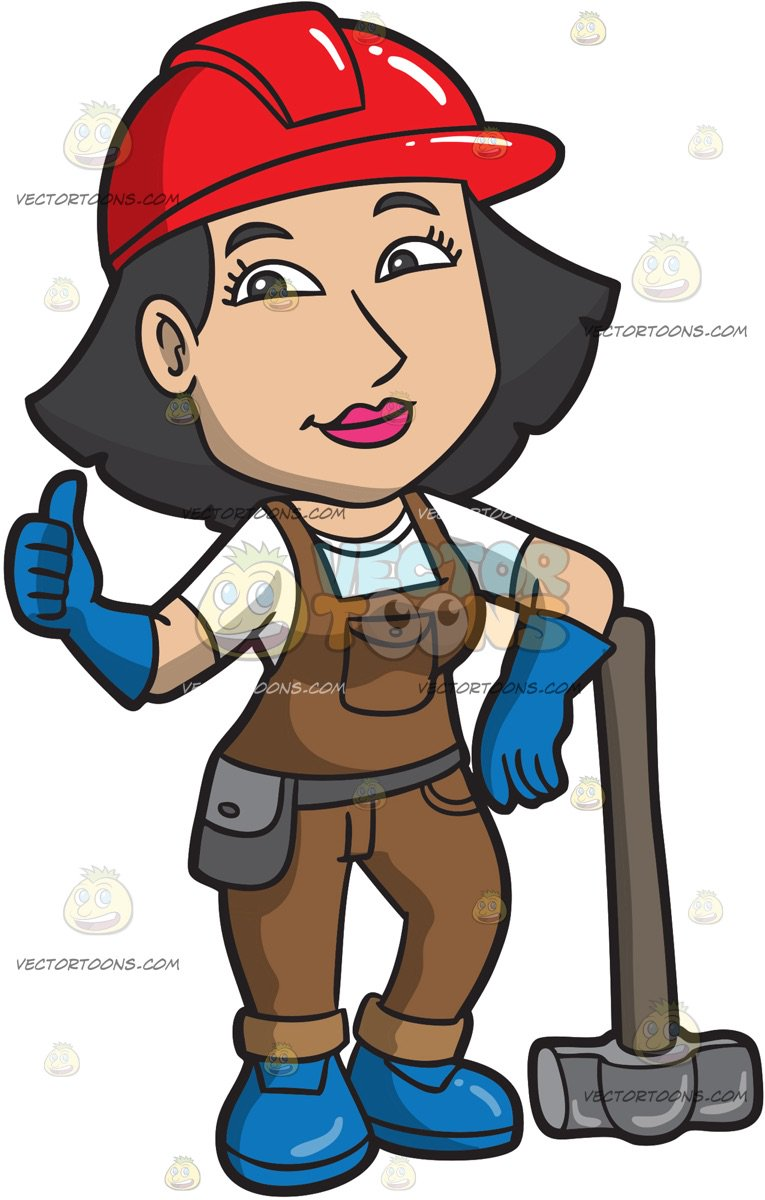 Construction Women Cliparts Free Download Clip Art.