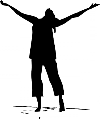 Image result for women worshiping god clipart.