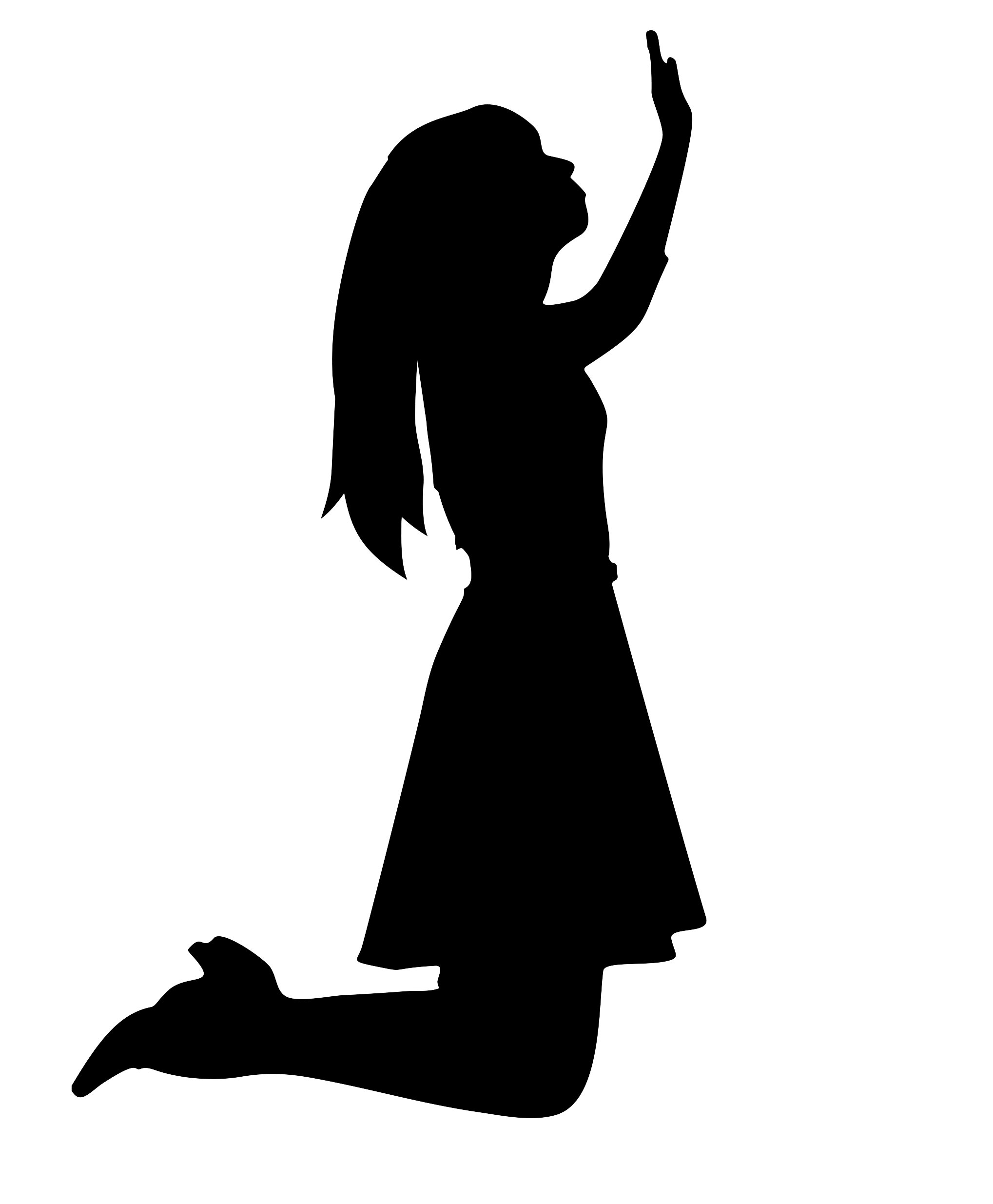 Woman Worship God Liturgical dance.