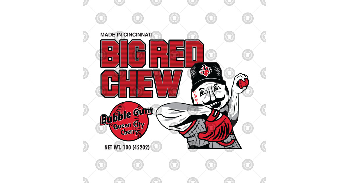 Big Red Chew Bubblegum by deepdivethreads.