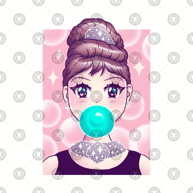 Kawaii Bubble Gum.