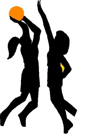 picture regarding Basketball Clipart Free Printable named Woman Basketball Participant Clipart