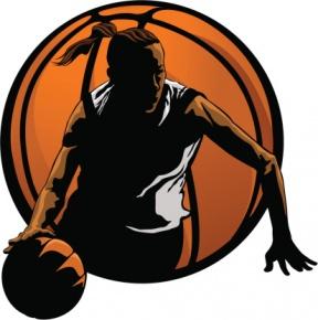 7+ Women Basketball Clipart.