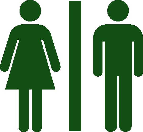Men, women, toilet, restroom green png #42385.