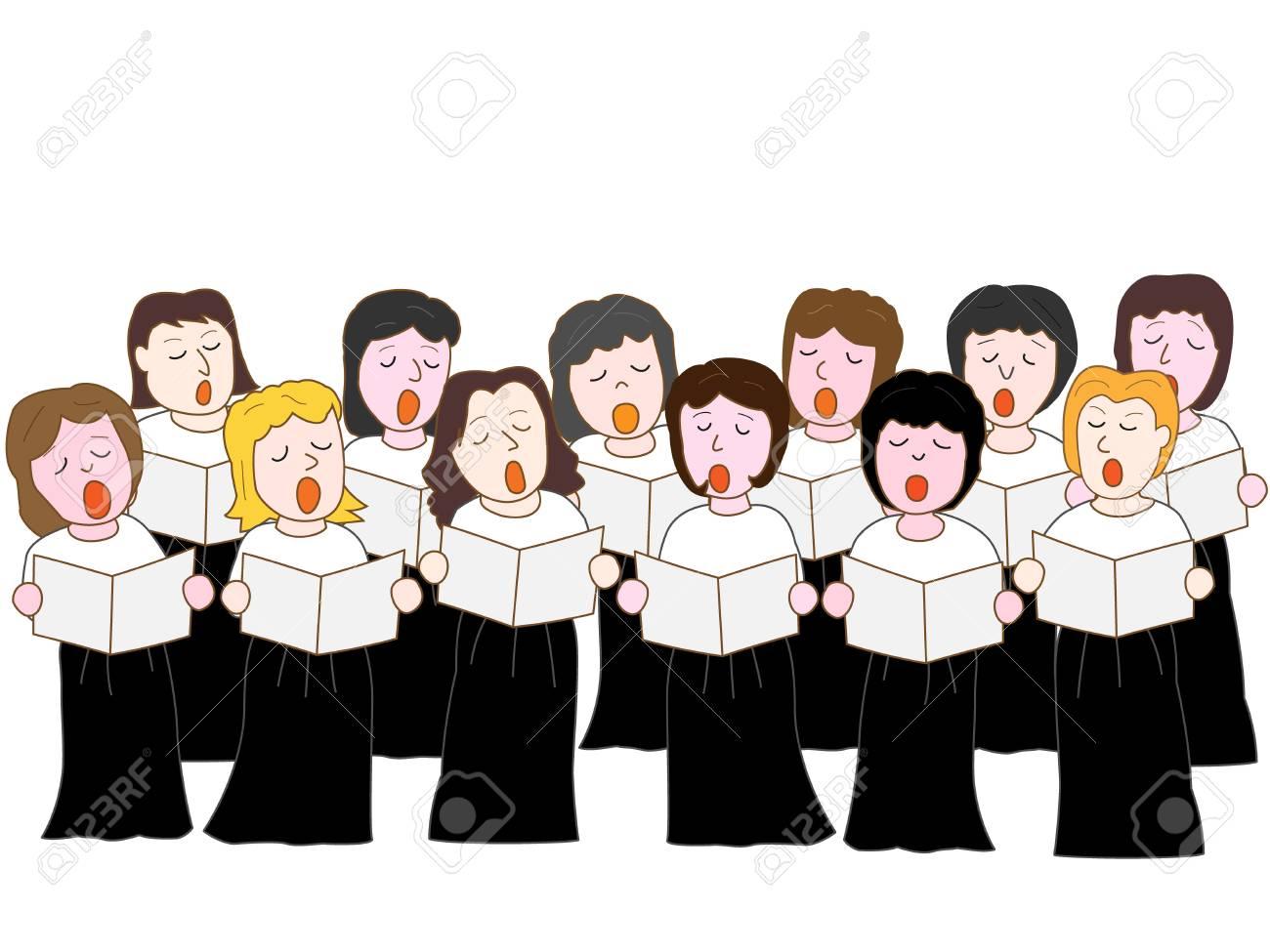Women's choir concert.