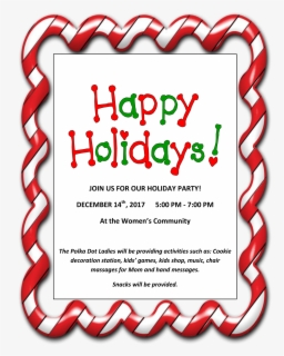 Free Holiday Party Clip Art with No Background.