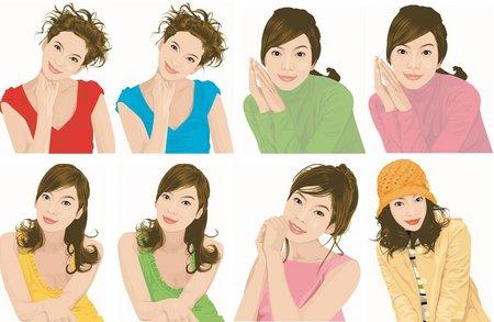 Women's Clipart.