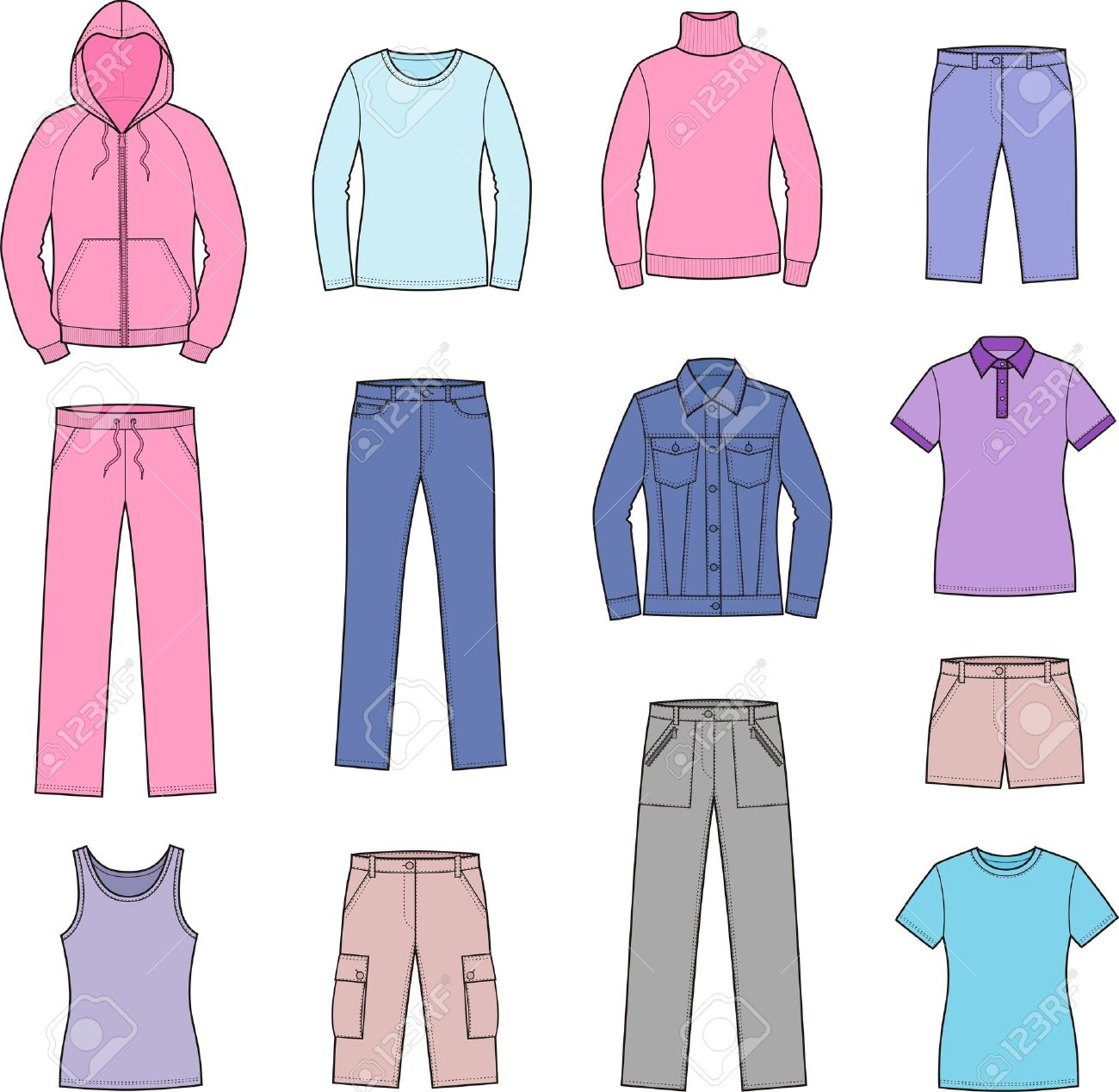 Free Women\'s Clothing Cliparts, Download Free Clip Art, Free.