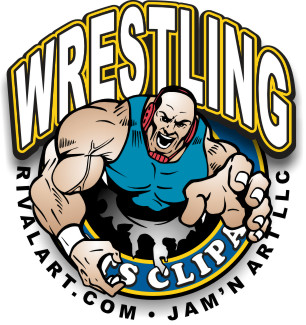 Gallery For > Women's College Wrestling Clipart.
