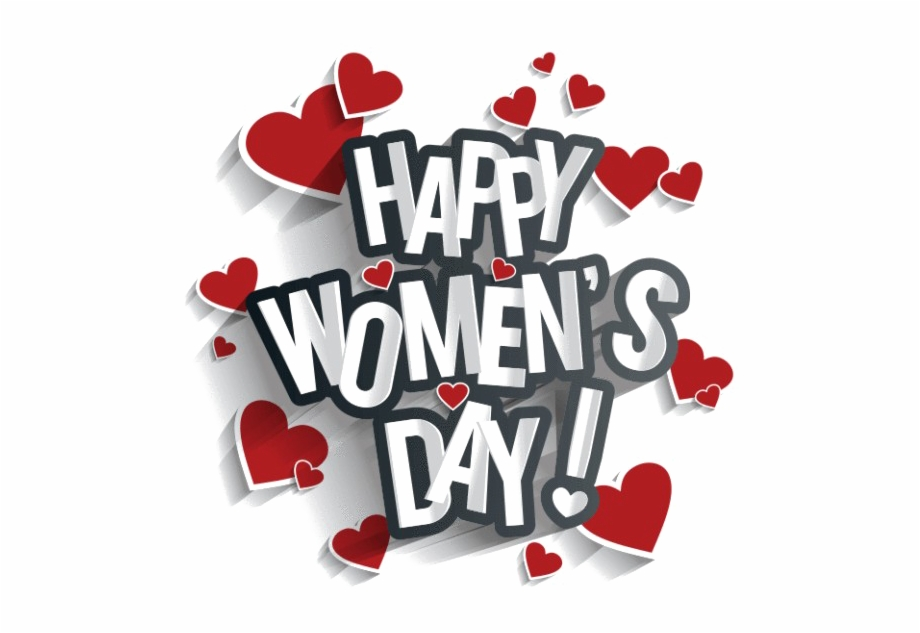 Happy Women's Day My Love Free PNG Images & Clipart Download.