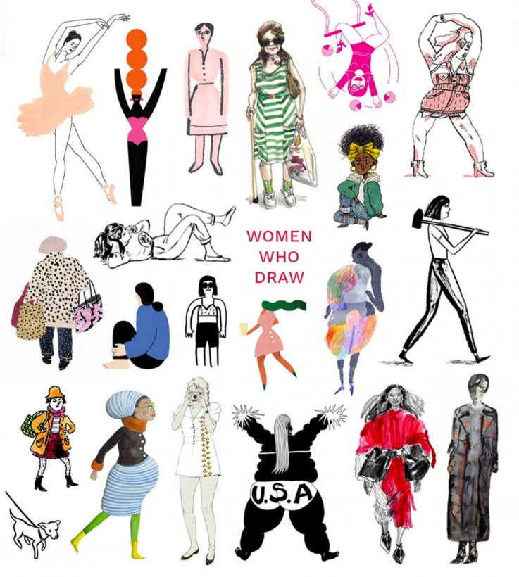 Life Illustrated: The Importance of \'Women Who Draw\'.