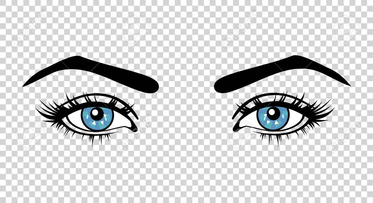 Eyes Clipart Transparent Background.