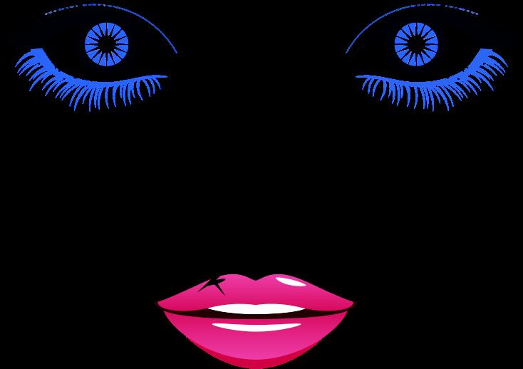 Eyelash clipart abstract, Eyelash abstract Transparent FREE.