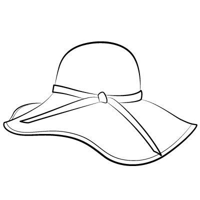 Floppy Hat Clipart.