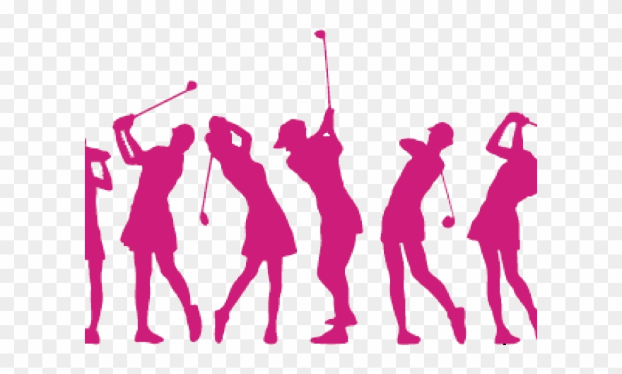 Ladies Golf Logo Clipart (#111580).