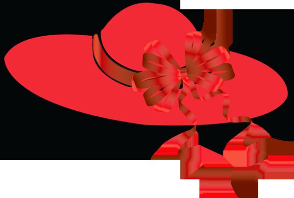 Women In Hats Clipart.