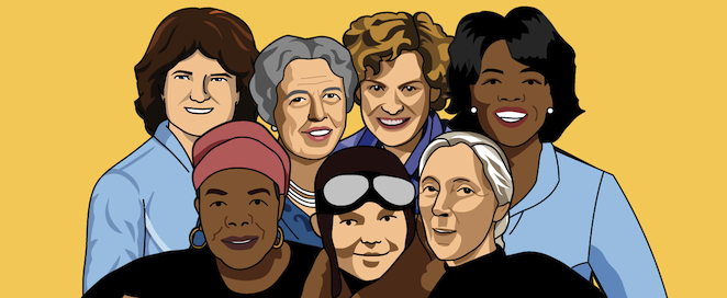 7 Ways to Celebrate Women's History Month.