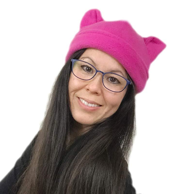 Amazon.com: Reversible Berry Pink Pussyhat.