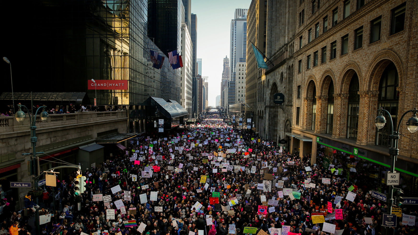 Women\'s March Highlights as Huge Crowds Protest Trump: \'We.
