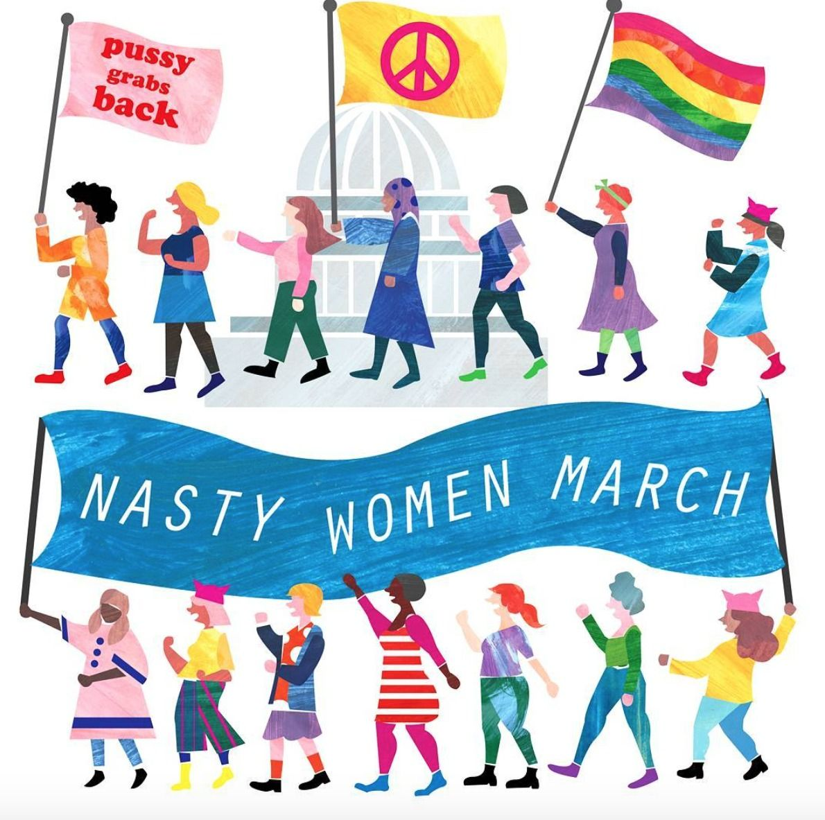 14 Women\'s March Posters We Love.