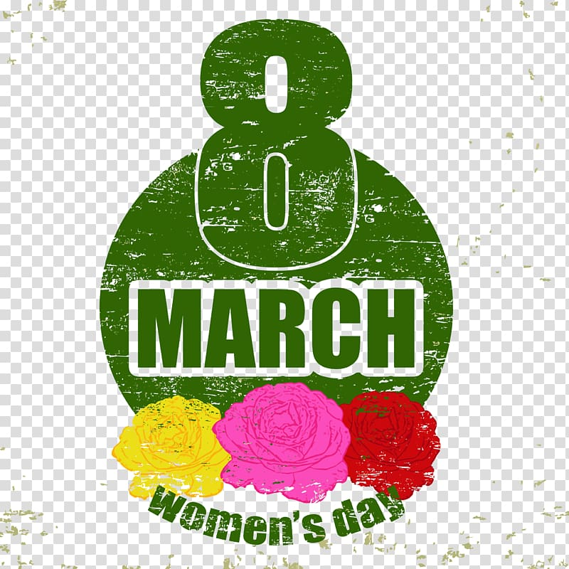 International Womens Day Poster Woman March 8, Women\\\'s Day.