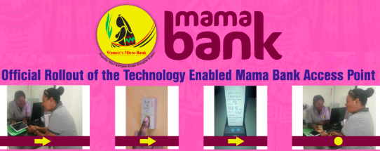 Mama bank' launched for biometric access to financial services for.