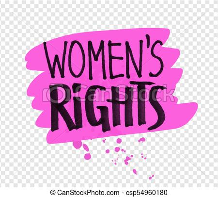 Womens Rights PNG clipart images free download.