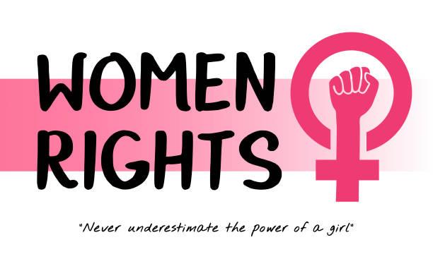 Best Women Power Illustrations, Royalty.