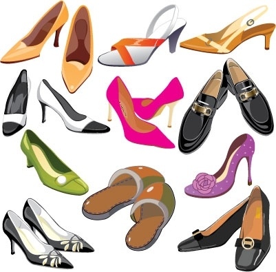 Shoes clip arts, free clipart.