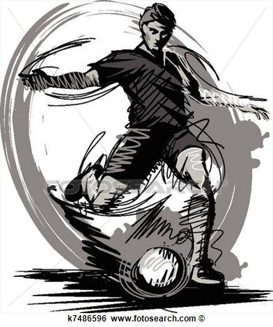 Womens Soccer Clipart.