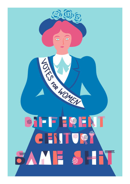Best Women's Suffrage Illustrations, Royalty.