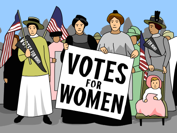 Women's Suffrage Cliparts 3.