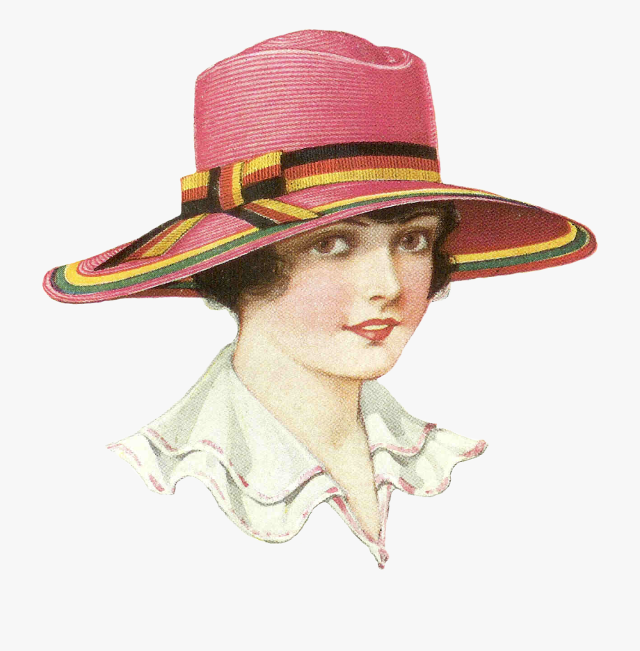 Tea Clipart Womens Hat.