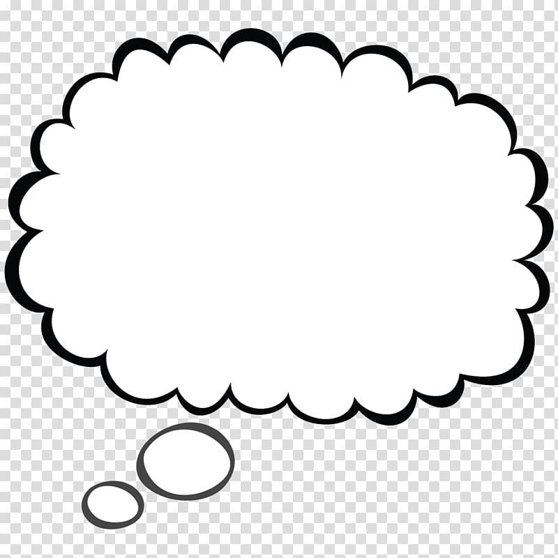 Speech balloon Thought Drawing , Wonder Bubble transparent.