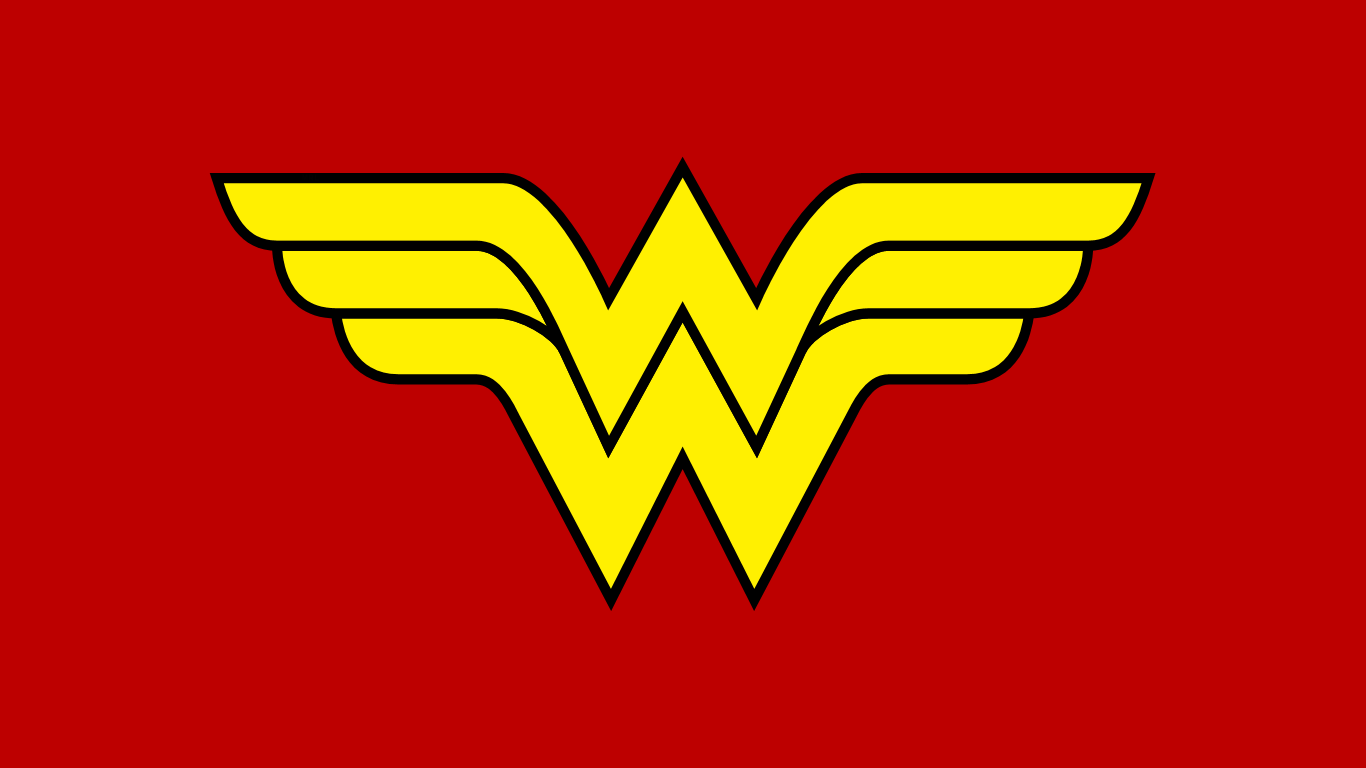 Old wonder woman Logos.