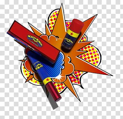 Wonder Woman MakeUp , multicolored paint colors transparent.
