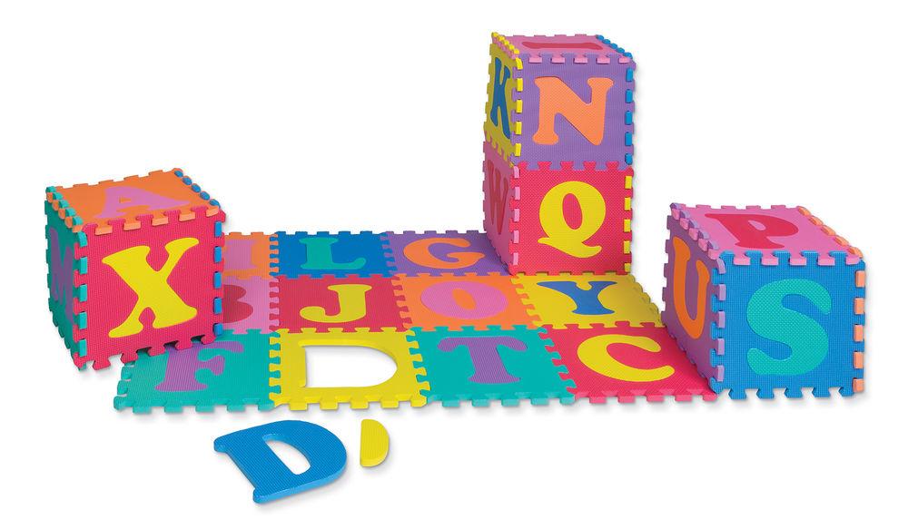 WonderFoam® Alphabet Puzzle Mat.