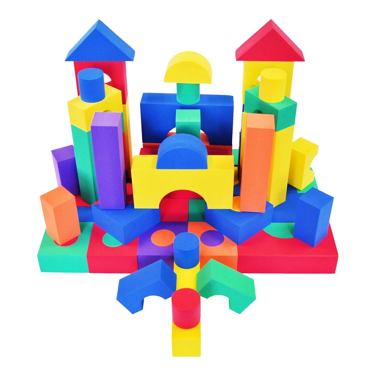 Wonder Soft Blocks, 68 Piece Set.