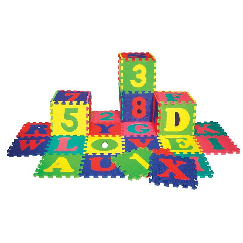 Chenille Kraft WonderFoam® Letters & Numbers Mat.