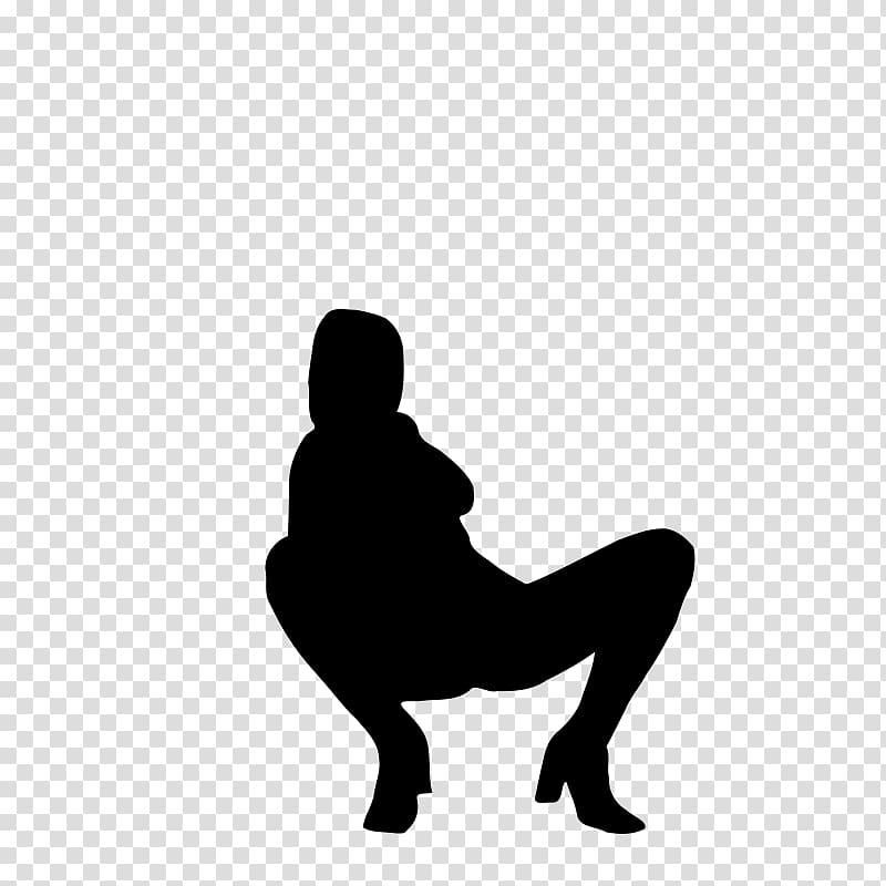 Silhouette Wonder Woman, Silhouette transparent background.