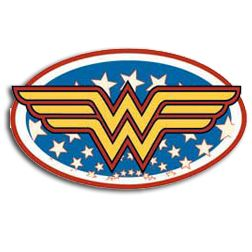 Licensed Wonder Woman Belt Buckle.