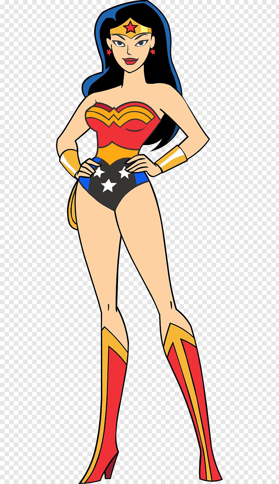 Wonder Woman illustration, Superman/Wonder Woman Superman.