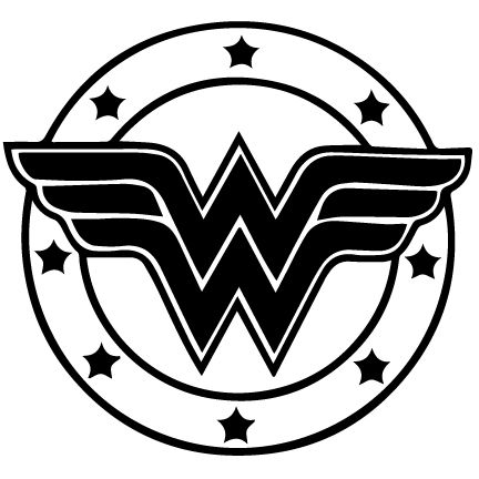 Afbeeldingsresultaat voor wonder woman black and white.