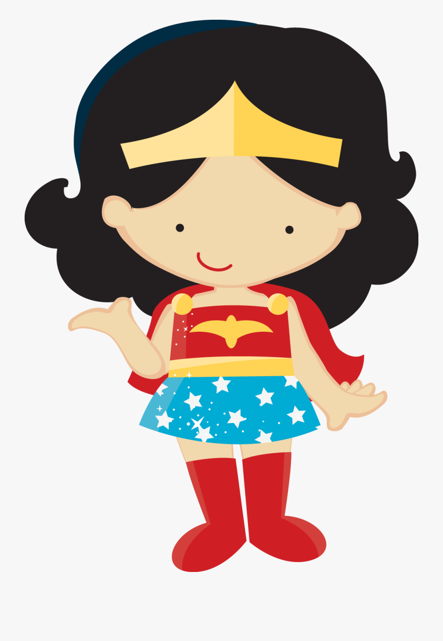 Clipart Of Wonder Woman Baby.