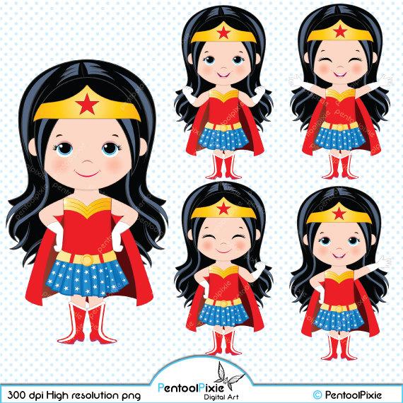 2030 Wonder Woman free clipart.
