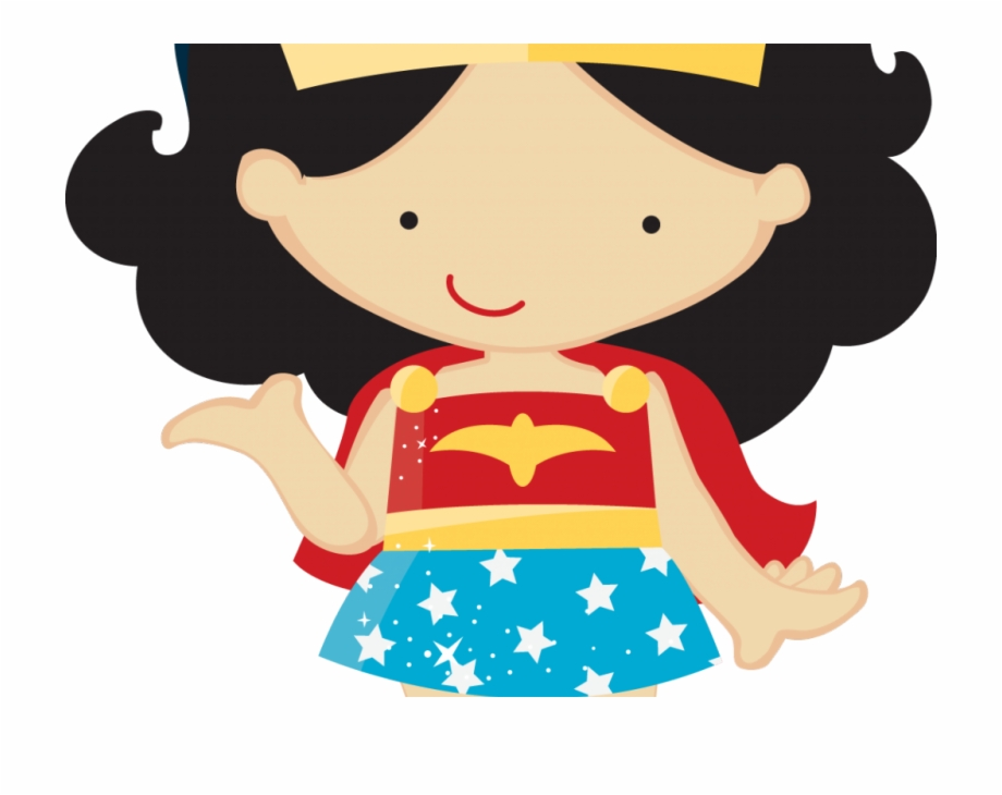 Wonder Woman Cartoon Png.