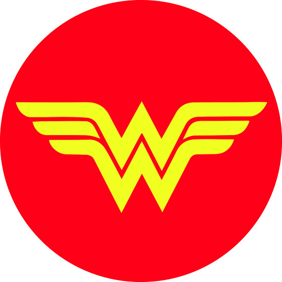 Collection of Wonder woman clipart.