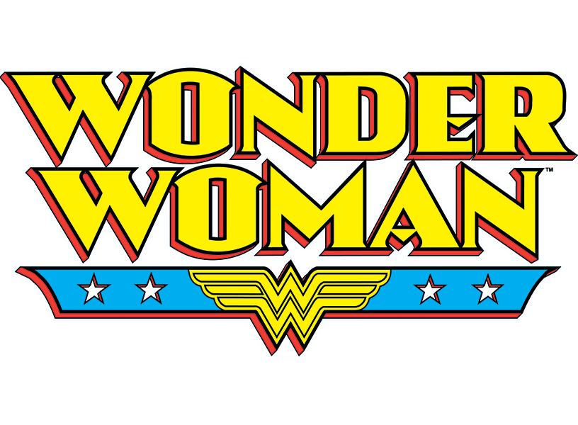 Wonder Woman Logo transparent PNG.