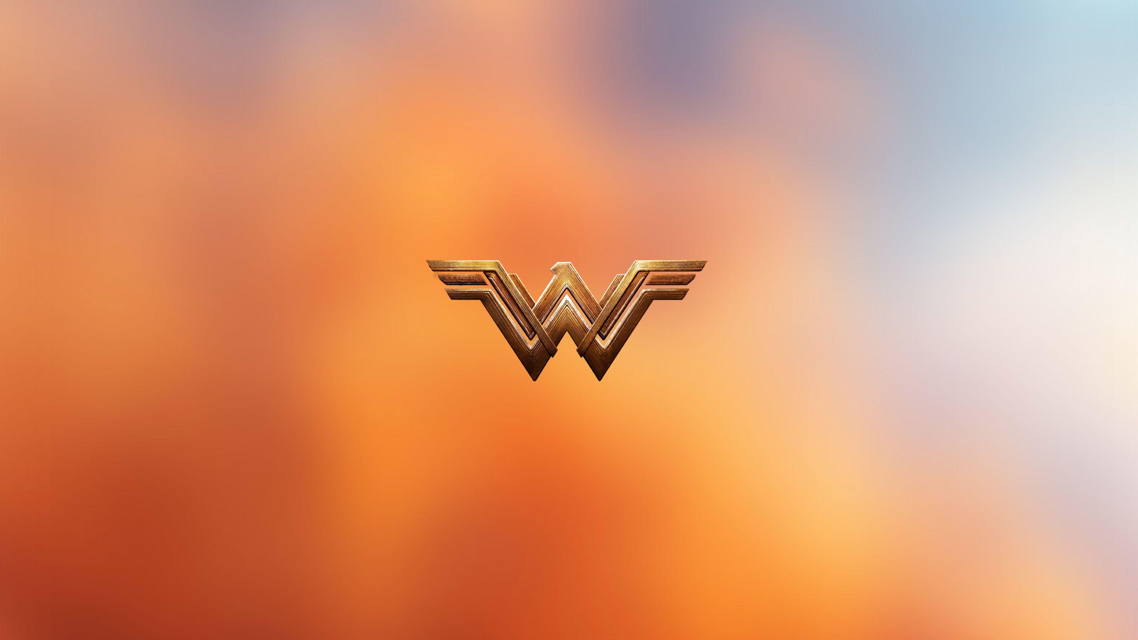 Wonder Woman Logo 4k wonder woman wallpapers, logo.