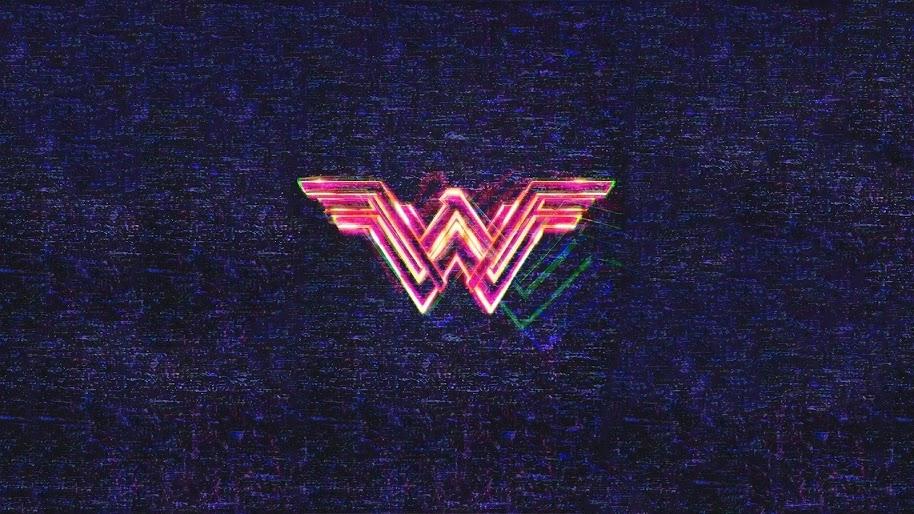 Wonder Woman 1984 Logo 4K Wallpaper #9.